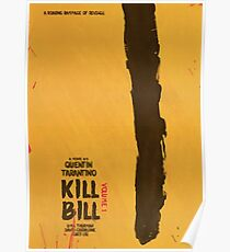 Kill Bill, Quentin Tarantino, movie poster, alternative, minimal version Poster