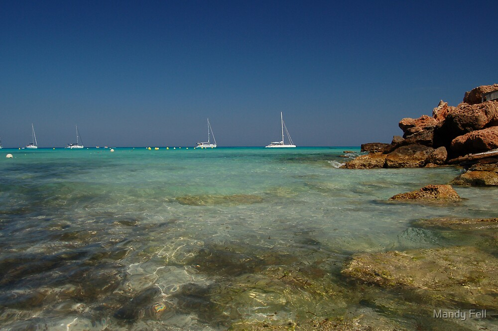 The beaches of Formantara by Mandy Fell