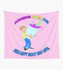 Codeine over ice Wall Tapestry