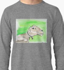 SMILING SHEEP - WATERCOLOUR AND INK Leichtes Sweatshirt