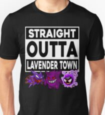 Straight Outta Lavender Town Unisex T-Shirt