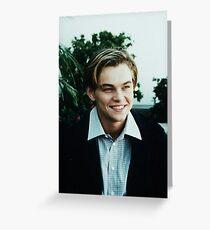 Leo Leonardo DiCaprio  Greeting Card