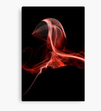 Black smoke 6 Canvas Print