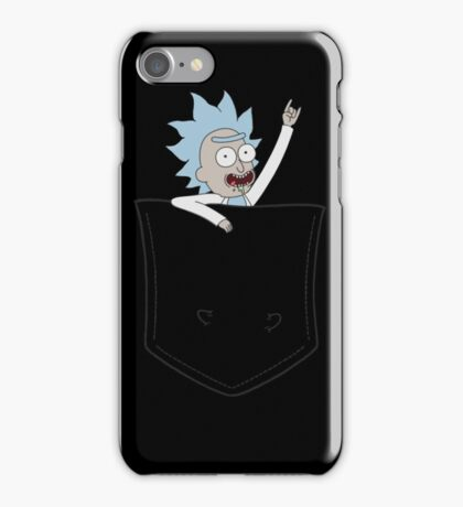 Pocket Pal - Tiny Rick iPhone Case/Skin