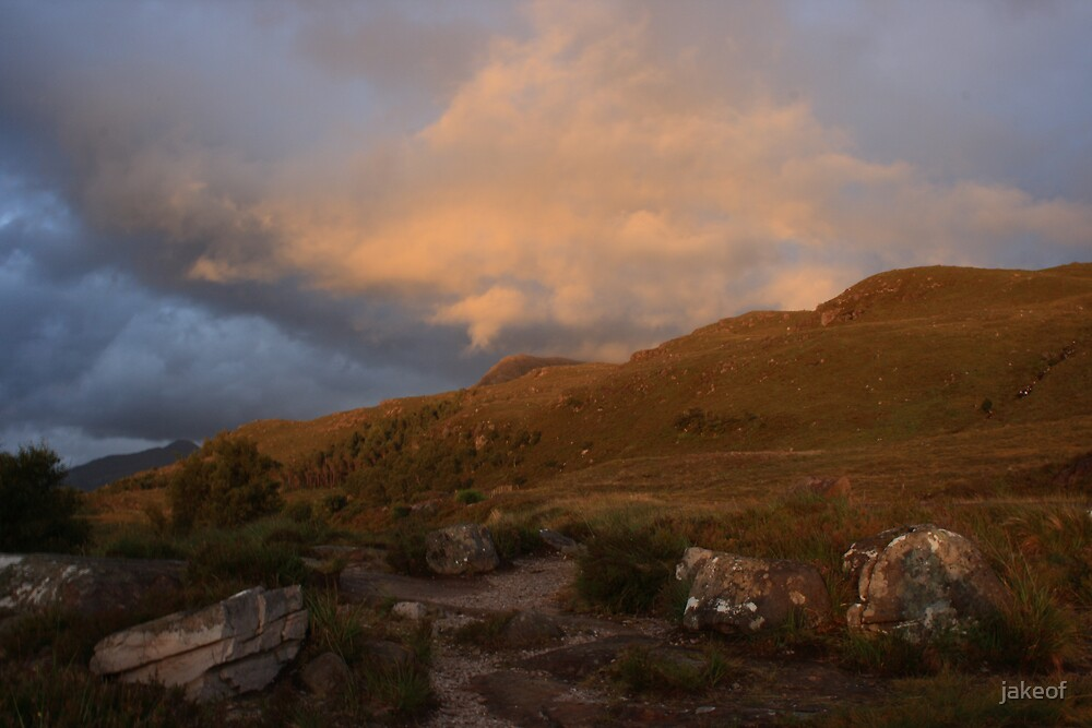 Sunset At Torridon by jakeof