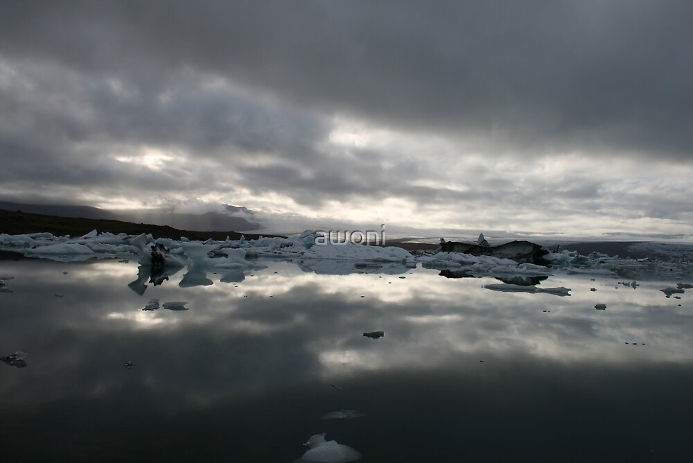 Mirror Ice by awoni