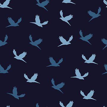 Flying birds by michalarieli