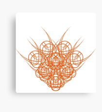 Abstract-Spicy-Kitsune Canvas Print
