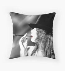 Cabaret Marceau Throw Pillow