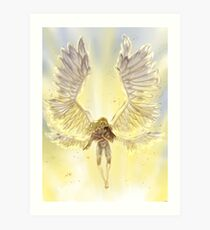 Claymore finale - Salvation Art Print