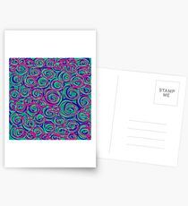 Circles Over Circles by Julie Everhart Postcards