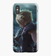 FF7 Remake Key Art: Cloud iPhone Case/Skin