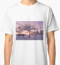 Camiseta clásica Puesta de sol de invierno # 2
