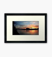 Harland & Wolff Dawn Framed Print