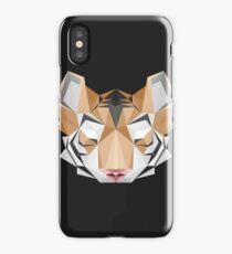tiger geometric iPhone Case/Skin
