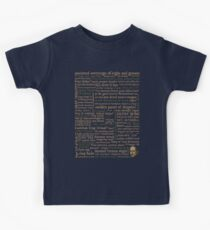 Shakespeare's Insults Collection - Revised Edition (by incognita) Kids Tee