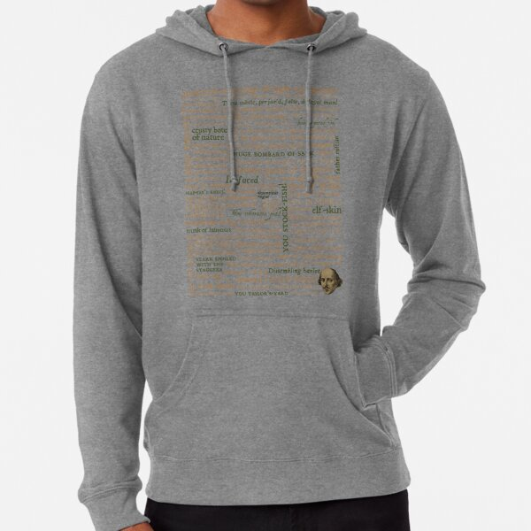 Shakespeare's Insults Collection - Revised Edition (by incognita) Lightweight Hoodie