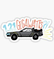 1.21 GIGAWATTS?! Sticker