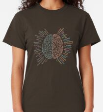 Left and right brain Classic T-Shirt
