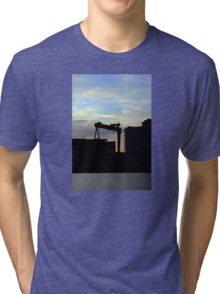 Harland & Wolff Silhouette Tri-blend T-Shirt