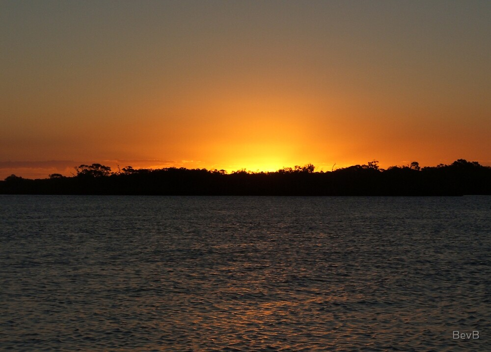 Gold Coast Sunset ll by BevB