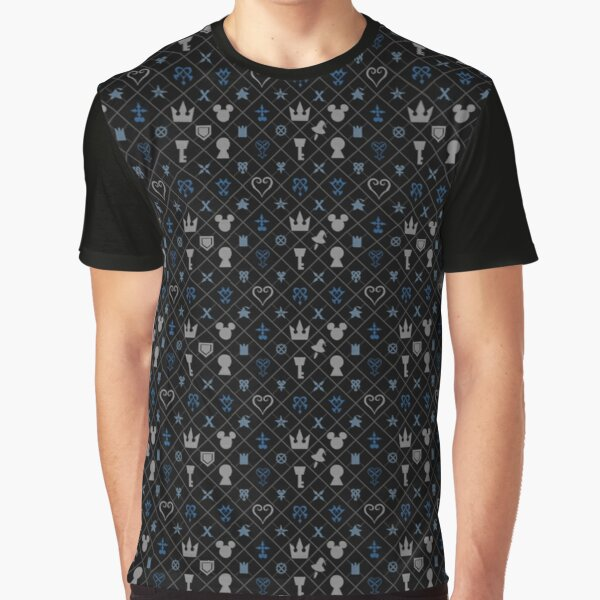 KH pattern Graphic T-Shirt