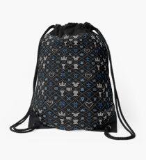 KH pattern Drawstring Bag