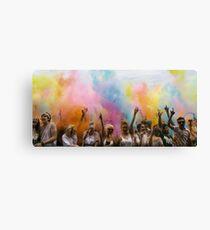 Colour Explosion  Canvas Print