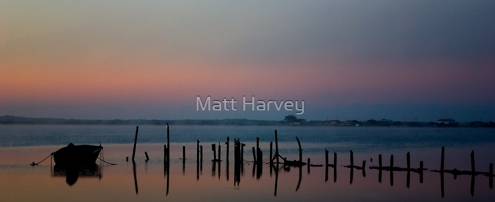 Murray river morning by Matt Harvey