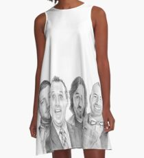 TruTV's Impractical Jokers - The Tenderloins Sketch! A-Line Dress