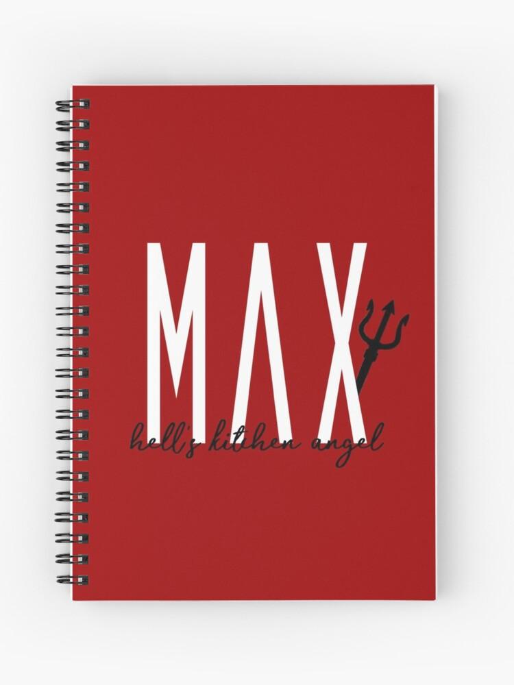 Hell S Kitchen Angel Max Schneider Spiral Notebook