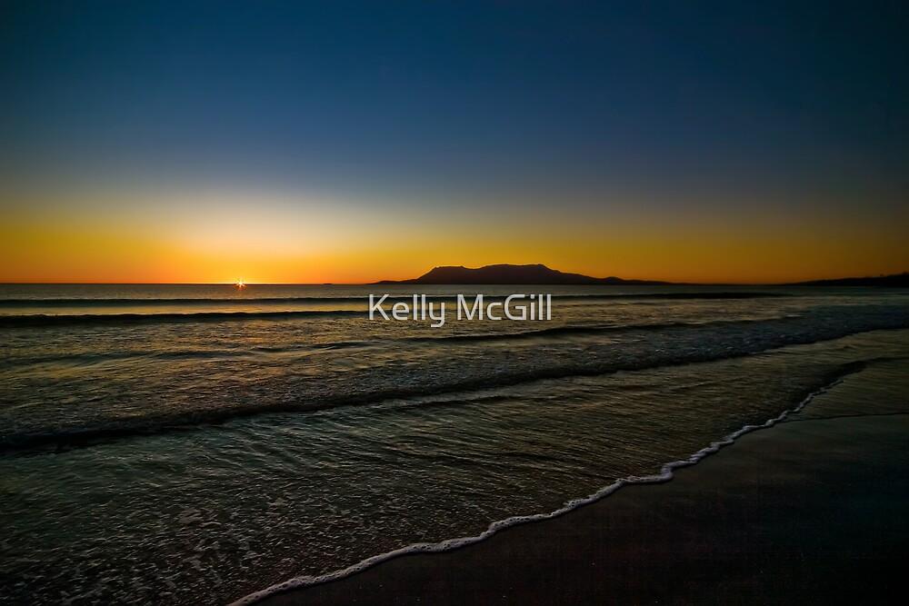 Spring Beach Sunrise by Kelly McGill