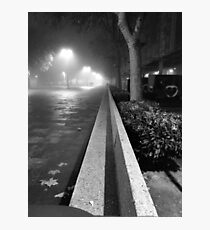 Palencia B&W Photographic Print