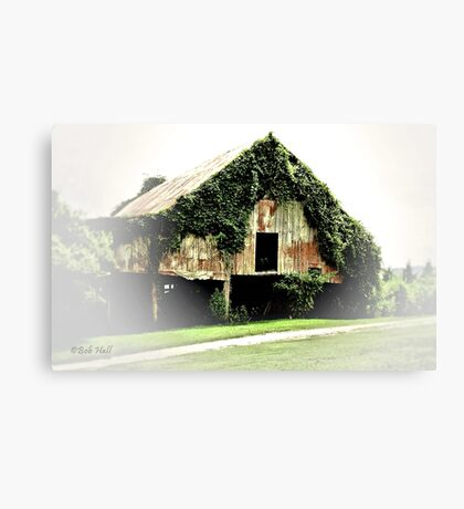 """Chia Barn""... prints and products Canvas Print"