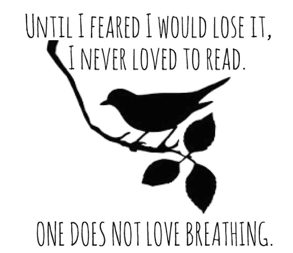 I Never Loved To Read - To Kill A Mockingbird Quote by Ellie Jeffers