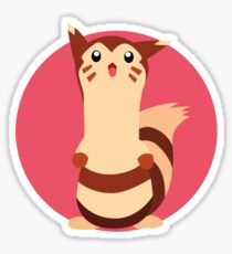 Furret - 2nd Gen Sticker