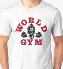 Gorilla Weltturnhalle Slim Fit T-Shirt
