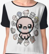 The Binding of Isaac, circle of characters Chiffon Top