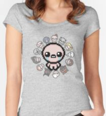 The Binding of Isaac, circle of characters Women's Fitted Scoop T-Shirt