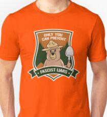 Nur du kannst faschistische Lügner verhindern Slim Fit T-Shirt