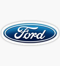 Ford Logo Team Sticker