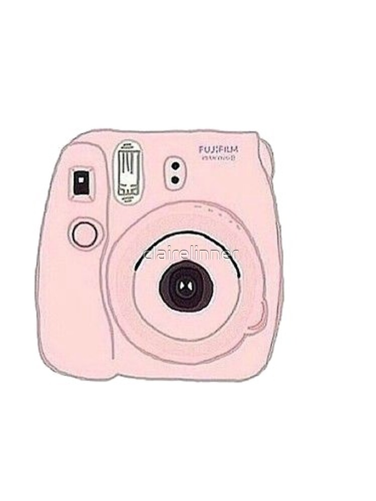 cámara Polaroid de clairelinner