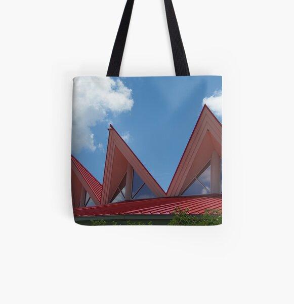 Tamarack Points of Interest All Over Print Tote Bag
