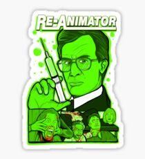 reanimator collage Sticker