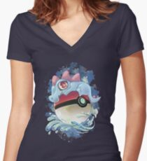 Totocute Women's Fitted V-Neck T-Shirt