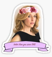 Gillian Anderson - Better Than You Sticker