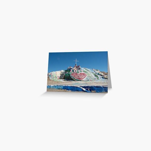 Salvation Mountain Greeting Card