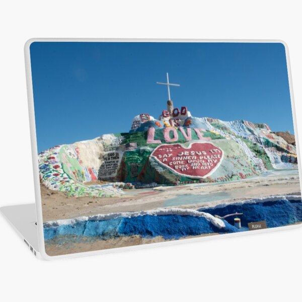 Salvation Mountain Laptop Skin