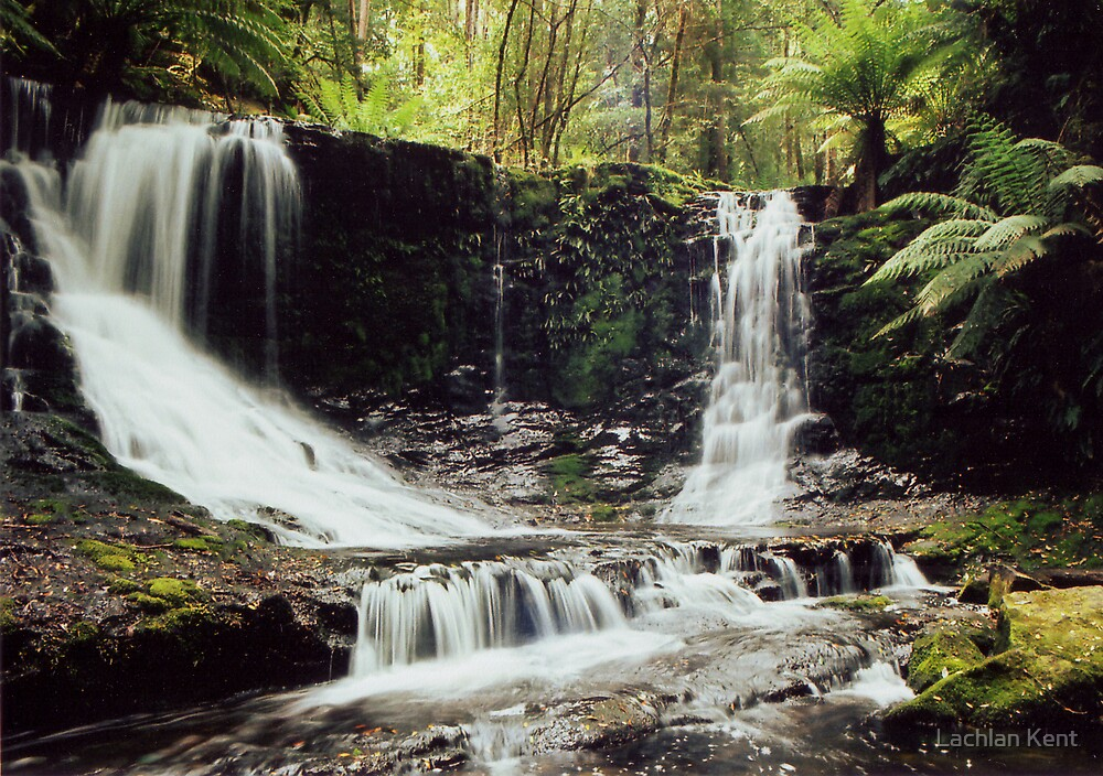 Horshoe Falls, Mt. Field National Park, Tasmania by Lachlan Kent