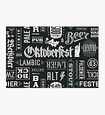 Oktoberfest Beer Festival Germany Photographic Print